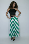 C1938 SKIRT (RED, GREEN, BLACK) - N by Nancy