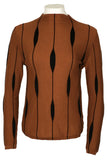 M4065 SWEATER (BLK, RUST)