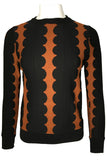 SK11059 SWEATER (BLK, RUST, GREEN)