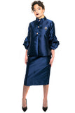 W722 JACKET (navy, red, blk) - N by Nancy