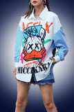 T1011 DRESS / JACKET (yellow)