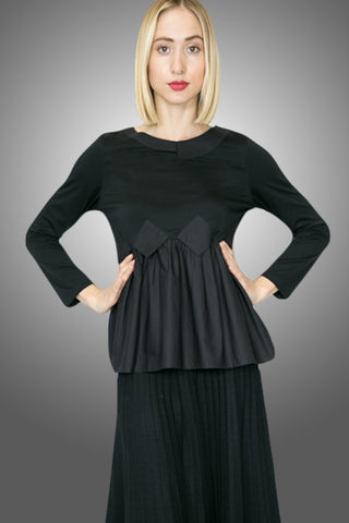 K6206 TOP (BLACK) - N by Nancy