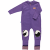 Plum snuggle suit