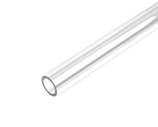 BSTOCK: PrimoChill 1/2in. OD Rigid PETG Single Tube 15in. - Clear