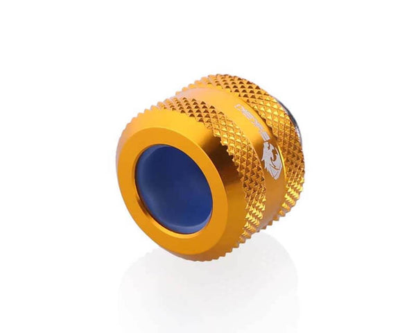 Bykski Anti-Off Rigid 12mm OD Fitting - Gold (B-FTHTJ-L12)