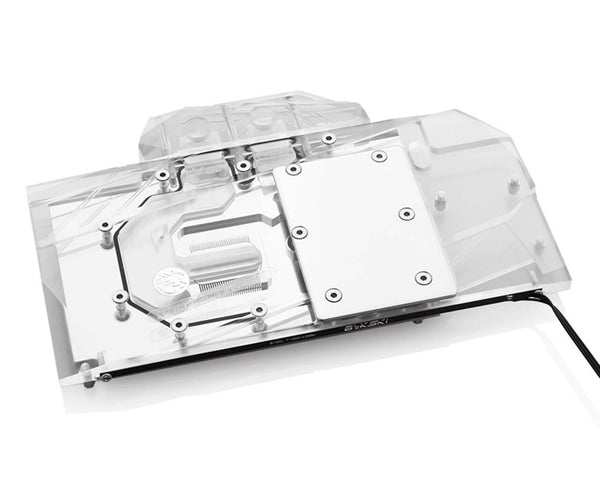 Bykski MSI RTX 2070 / 2080 Ventus V2 Full Coverage GPU Water Block - Clear (N-MS2080VENTUS-X)