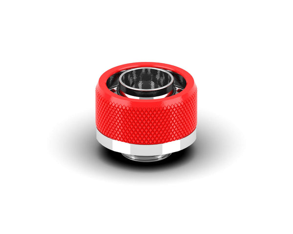 PrimoChill 1/2in. x 3/4in FlexSX Series Compression Fitting - Comp Red