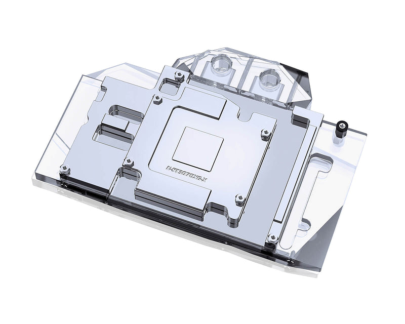 Bykski Full Coverage GPU Water Block and Backplate for Zotac RTX 3060Ti/3070 (N-ST3070XG-X)