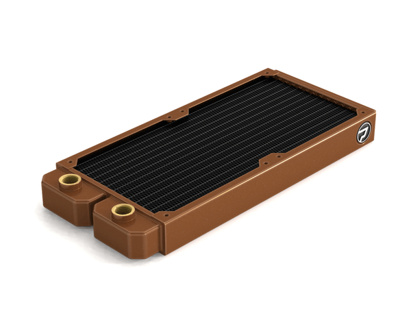 PrimoChill 240mm EximoSX Slim Radiator - Copper