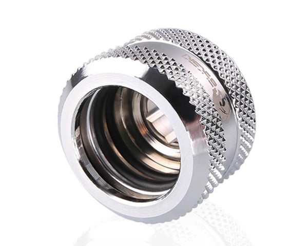 Bykski Rigid 16mm OD Fitting V2 - Silver (B-HTJV2-L16)