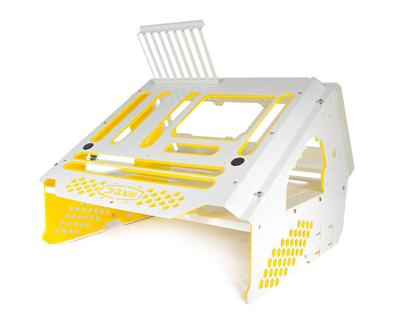 Praxis WetBench - White w/Solid Yellow Accents - White w/Solid Yellow Accents