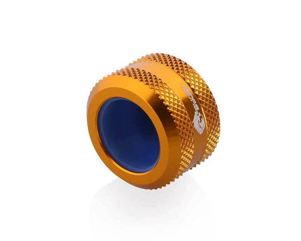 Bykski Anti-Off Rigid 16mm OD Fitting - Gold (B-FTHTJ-L16)