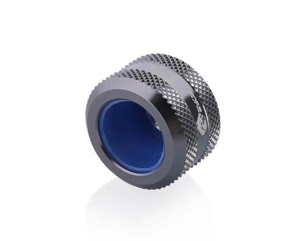 Bykski Anti-Off Rigid 16mm OD Fitting - Grey (B-FTHTJ-L16)