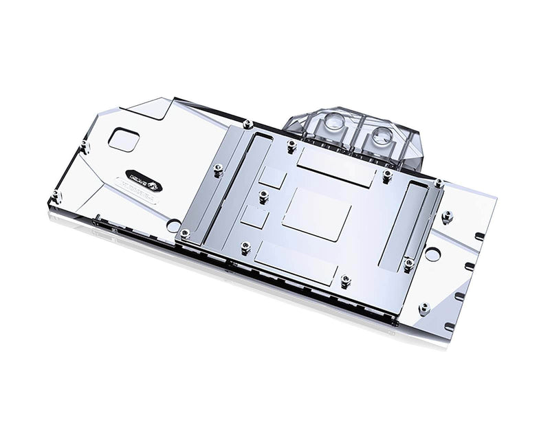 Bykski Full Coverage GPU Water Block and Backplate for Gigabyte RX 6800 / 6900XT Gaming OC (A-GV6900XT-X)