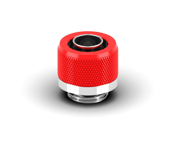 PrimoChill 3/8in. x 1/2in FlexSX Series Compression Fitting - Comp Red