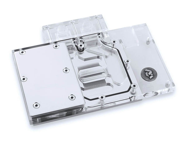 BSTOCK: Bykski AMD RX 580 Public Version Full Coverage GPU Water Block - Clear (A-RX580-X)