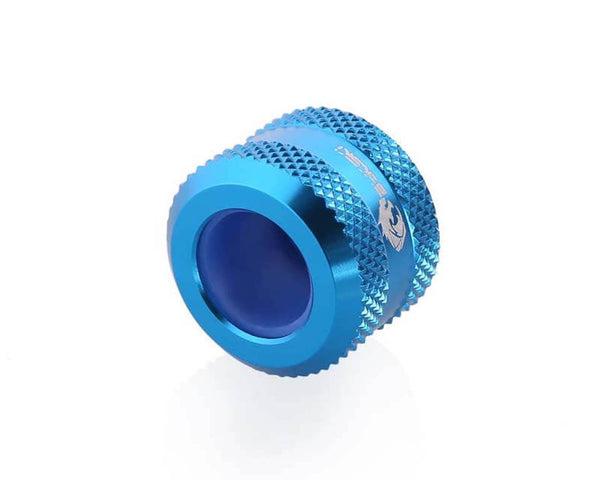 Bykski Anti-Off Rigid 12mm OD Fitting - Blue (B-FTHTJ-L12) - Blue
