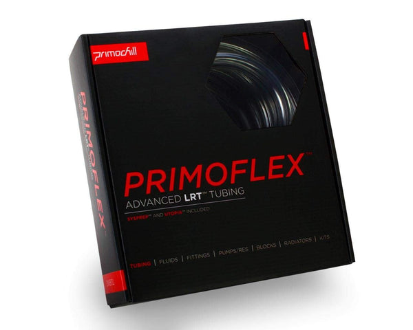 PrimoFlex Advanced LRT Flexible Tubing - 1/2in.ID x 3/4in.OD - Retail Bundle (10ft pack) - Crystal Clear - Crystal Clear
