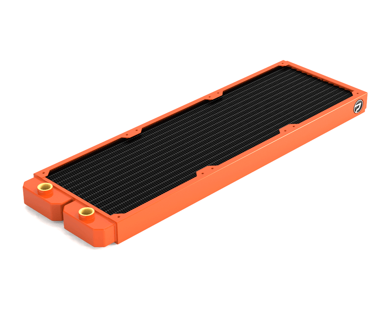 PrimoChill 420mm EximoSX Slim Radiator - Orange