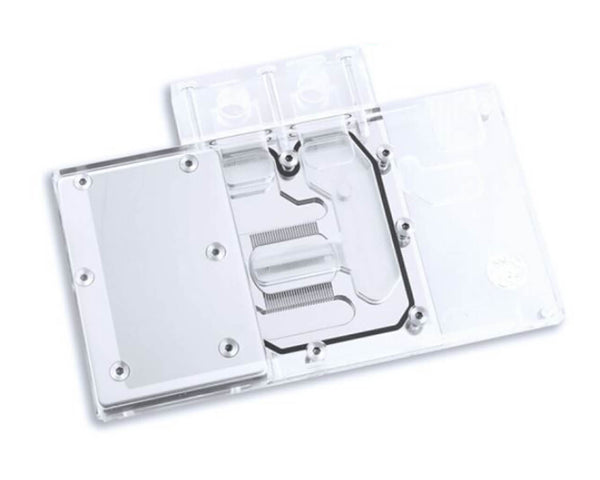 Bykski XFX R9 RX470/480/570/580 Full Coverage GPU Water Block - Clear (A-XF48BW-X)