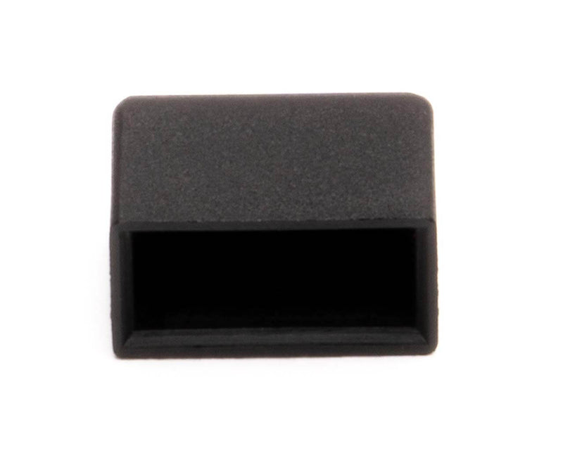 PrimoChill 4 Pin Floppy Dust Cover - Black - 10 Pack