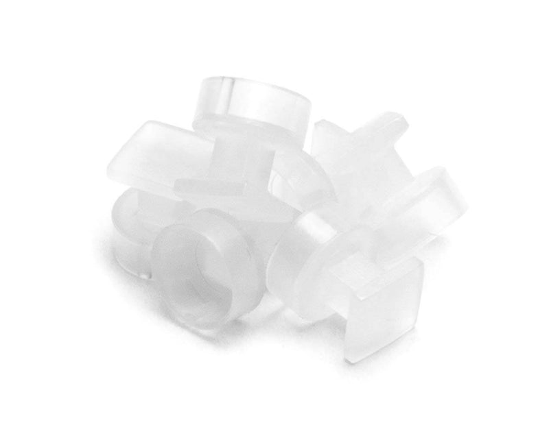 PrimoChill PS/2 and S-Video - Input Dust Cover - Clear - 10 Pack