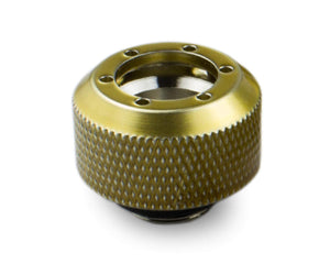 PrimoChill 1/2in. Rigid RevolverSX Series Fitting - Candy Gold - Primochill