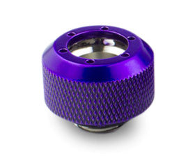 PrimoChill 1/2in. Rigid RevolverSX Series Fitting - Candy Purple - Primochill