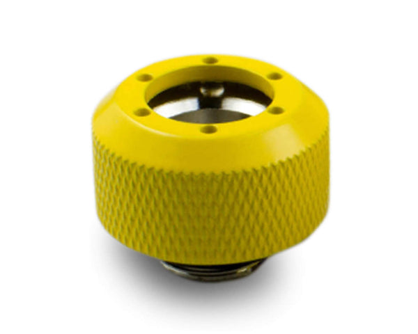 PrimoChill 1/2in. Rigid RevolverSX Series Fitting - Yellow - Primochill