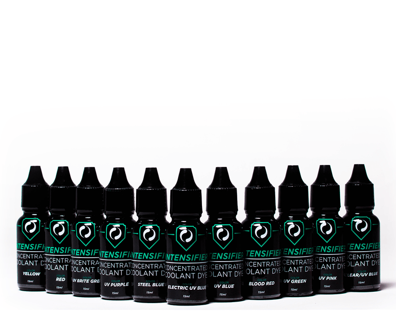 PrimoChill Intensifier Transparent Dye Pack (11 bottles) - Primochill