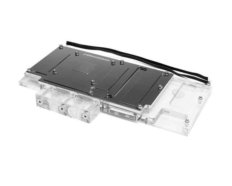 Bykski nVidia N-TITAN-PAS-X Reference Edition Full Coverage GPU Water Block - Clear (N-TITAN-PAS-X)