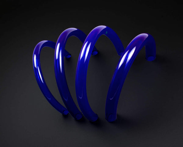 PrimoFlex Advanced LRT Flexible Tubing -1/2in. ID x 3/4in. OD (Sold by the Foot) - Brilliant UV Blue - Primochill