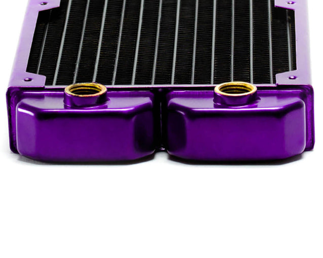PrimoChill 420mm EximoSX Slim Radiator - Candy Purple - Primochill