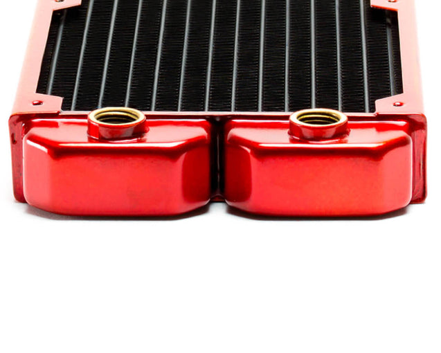 PrimoChill 140mm EximoSX Slim Radiator - Candy Red - Primochill
