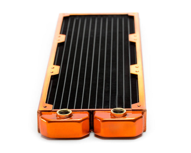 PrimoChill 420mm EximoSX Slim Radiator - Candy Copper - Primochill