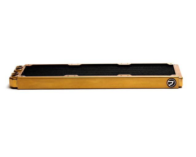 PrimoChill 420mm EximoSX Slim Radiator - Candy Gold - Primochill
