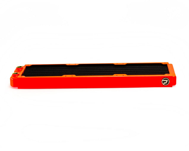 PrimoChill 420mm EximoSX Slim Radiator - UV Orange - Primochill