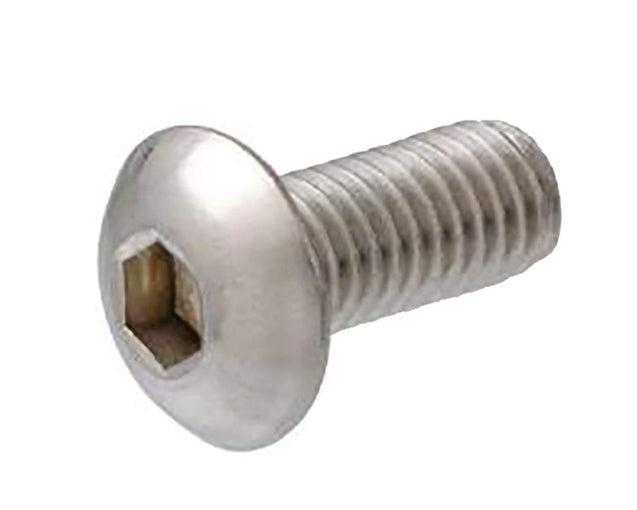 Button Head Socket Cap Screw - M4 x 14mm - Silver - 4 Pack - Primochill