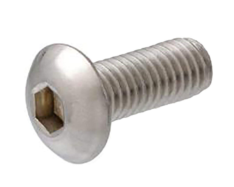 Button Head Socket Cap Screw - M4 x 18mm - Silver - 4 Pack - Primochill