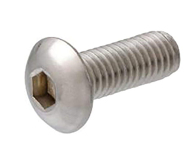 Button Head Socket Cap Screw - M4 x 20mm - Silver - 4 Pack - Primochill