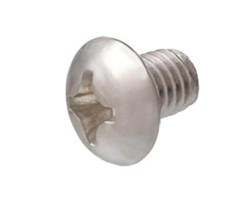 Phillips Head Screw - M4 x 6mm - Silver - 4 Pack - Primochill