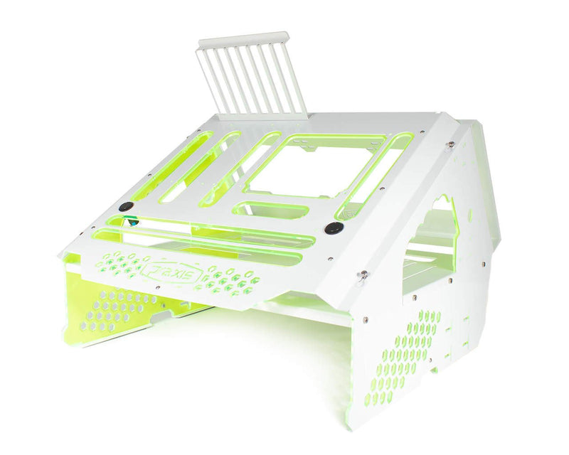 Praxis WetBench - White w/ UV Green PMMA Accents - White w/UV Green Accents