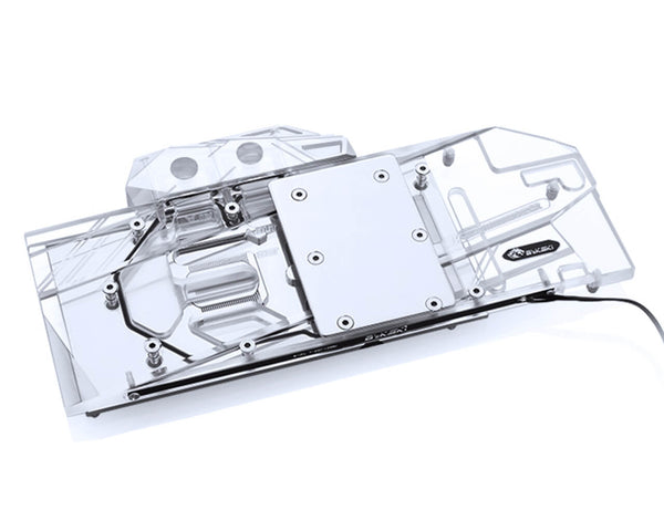 Bykski Full Coverage GPU Water Block for ZOTAC RTX 2080Ti 8GD6 Plus OC  - Clear W/ RBW (N-ST2080TIPLUS-X)