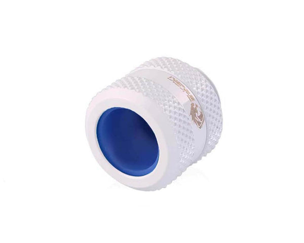 Bykski Anti-Off Rigid 12mm OD Fitting - White (B-FTHTJ-L12)