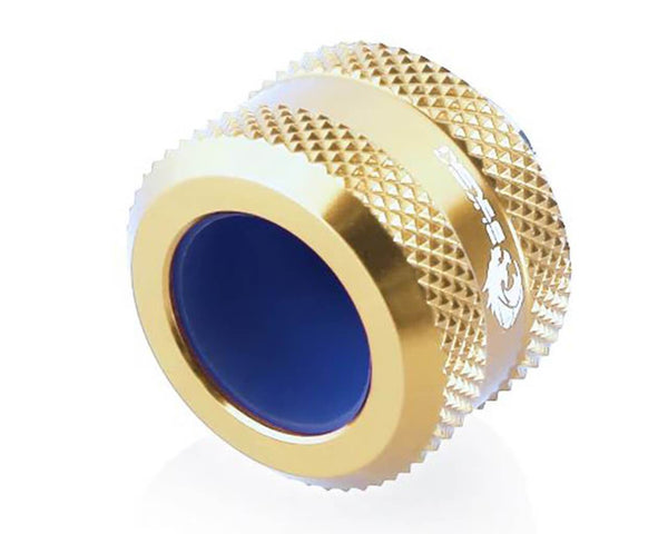 Bykski Anti-Off Rigid 14mm OD Fitting - Gold (B-FTHTJ-L14)