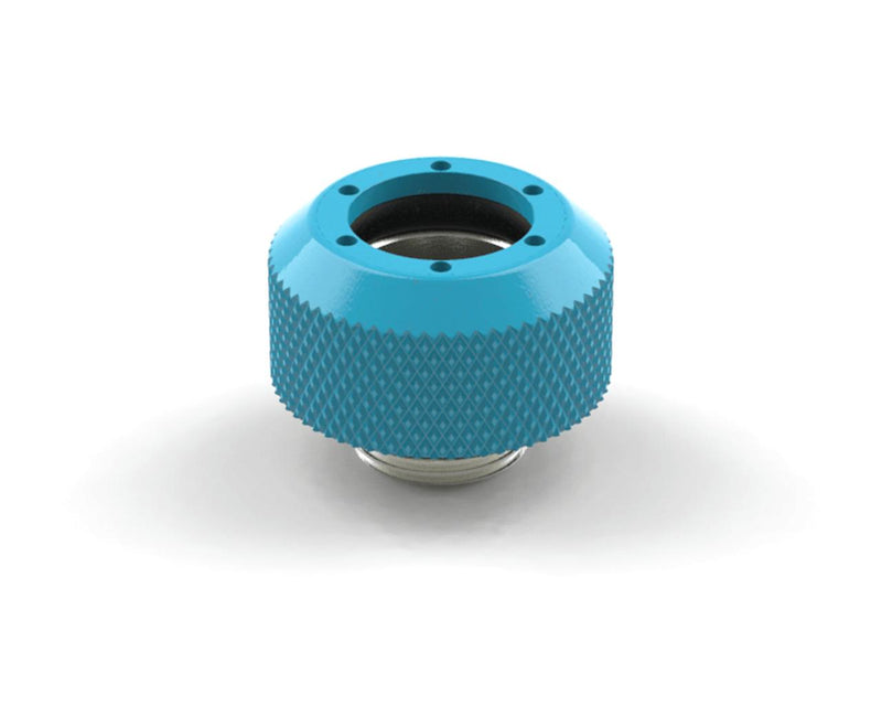 BSTOCK: PrimoChill 1/2in. Rigid RevolverSX Series Fitting - Sky Blue SX