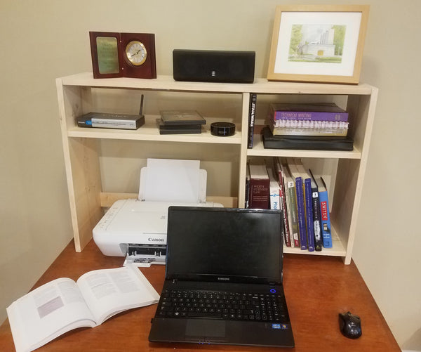 Desk Hutch Small (WVU)