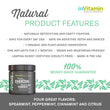 Natural Whitening Activated Charcoal Tooth Powder Features