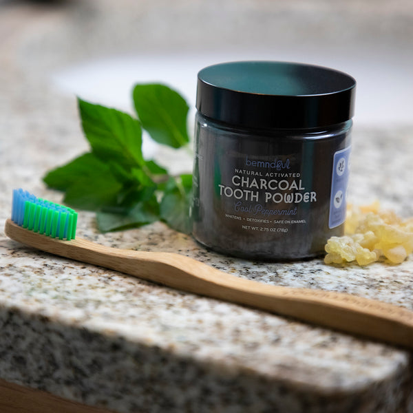 Whitening Tooth Powder with Activated Charcoal (Peppermint)