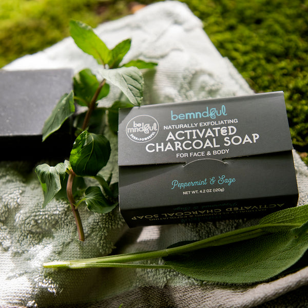 Exfoliating Charcoal Soap Bar